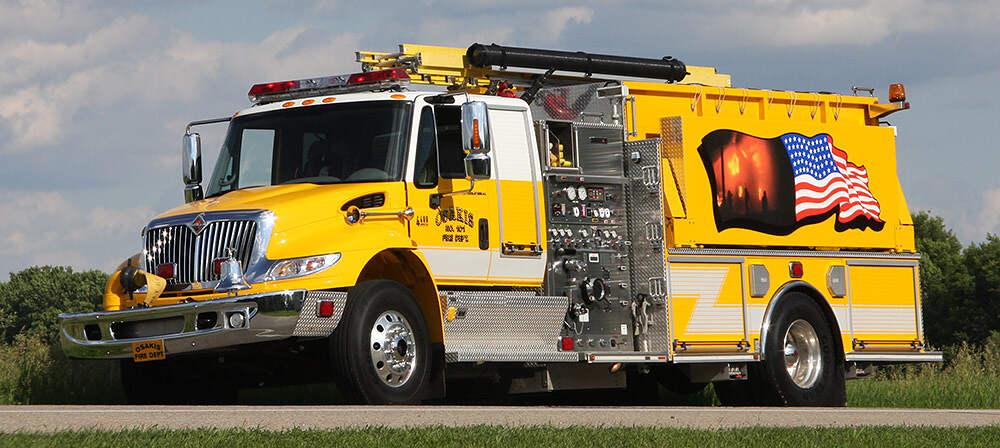 Osakis Fire Department Truck