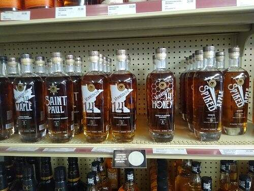 panther distillery products at osakis liquor store