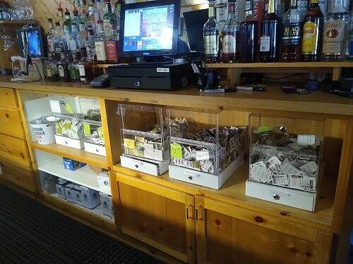 pull tabs at osakis liquor store